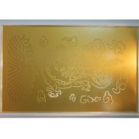 Buy cheap Laser Carving decorative metal wall panels with Culture Element Custom Made Pattern from wholesalers