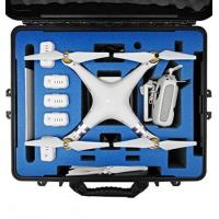 China DJI Phantom 3 Carrying Case. Military Spec Waterproof and Airtight Hard Case Fits Quadcopter and GoPro Accessories Custo on sale
