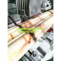 Buy cheap Plastic PVC marble door lines extruder machine hot stamping machine product