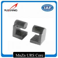 Buy cheap Strong MnZn URS Ferrite Core , Magnetic Core Material High Saturation Magnetic Flux Density from wholesalers