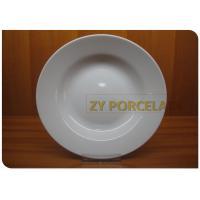 Lightweight Ceramic Dining Plates Contemporary Acid-Resistant Healthy Innocuity