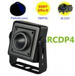 Buy cheap Analog 800TVL Hidden Car Reversing Camera  Low Lux Mini Pinhole ATM Spy Camera from wholesalers