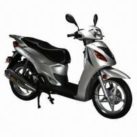 Buy cheap 125cc Gas Scooter/Motorcycle, 75kph Maximum Speed, EEC and EPA Approved from wholesalers