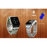 Buy cheap Quadband +Single Card Standby Stainless Steel Waterproof Watch Mobile Phone (W818) from wholesalers