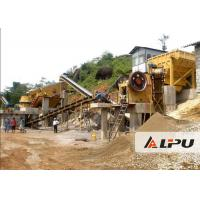 Buy cheap Customized Rock Crushing Equipment , Complete Stone Crushing And Screening Plant from wholesalers
