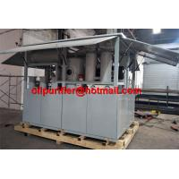 Buy cheap Shelter Cabinet Transformer Oil Filtration Plant, high voltage insulation oil purifier Fuller's earth clay decolor from wholesalers