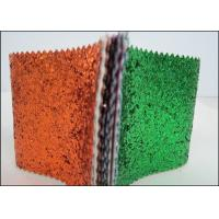 Buy cheap Synthetic Leather Multicolor PU Glitter Fabric For Wallpaper Shoes And Bags product