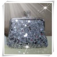 Buy cheap Trendy European design bling sequin evening handbag for lady from wholesalers
