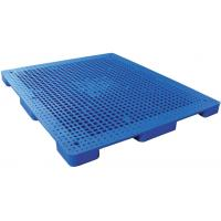 Buy cheap Rackable reusable  Plastic Pallets recycling Nine - feet Perforated Flat Pallet from wholesalers