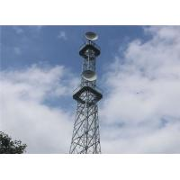 Buy cheap 90M 4 Legged Angle Stee Mobile Telecom Tower , HDG Self Supporting Lattice Tower from wholesalers