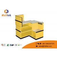 Buy cheap Retail Shop Metal Supermarket Checkout Counter Convenience Store Checkout Counter from wholesalers