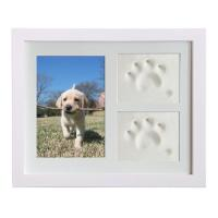 China Wooden Custom Photo Frame 28x23CM For Dog Or Cat Pet Paw Picture Display on sale
