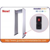 Buy cheap hot sell cheap 6 zones walk through metal detector with 6 LED Strips from Wholesalers