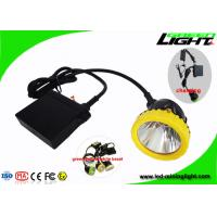 Buy cheap Anti Corrosion Hunting Mining Hard Hat Lights High Power Headlamp 50000lux Brightness from wholesalers