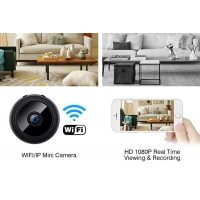 Buy cheap A9 Full Hd 1080p Mini Wifi Camera , 1080p Wireless Outdoor Ip Security Camera With Night Vision from wholesalers