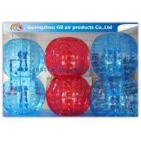 Buy cheap Red And Blue Inflatable Human Bumper Ball Bubble Football Suits LOGO Acceptable product