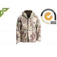 Buy cheap Outdoor Windproof Military Tactical Jackets With Hood , Law Enforcement Apparel from wholesalers