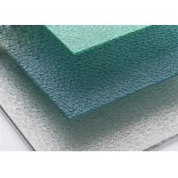 Buy cheap Embossed Tinted Polycarbonate Panels , Polycarbonate Sheet For Conservatory Roof from wholesalers