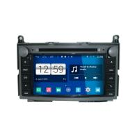 Buy cheap 7 2DIN HD android car dvd android 4.4.4 HD 1024*600 car DVD GPS for Toyota Venza 2013 with WiFi Mirror link from wholesalers