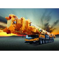 Buy cheap Large Mobile Truck Loading Crane 100t For Construction Industry Spacious Cab from wholesalers