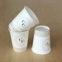 Buy cheap Hot Sale Compostable Double Wall Paper Cups with lids from wholesalers