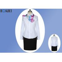 Buy cheap Long Sleeve Shirt Professional Office Uniforms With Single Breasted from wholesalers