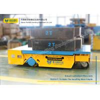 Buy cheap Heavy Duty Industrial Transfer Car , Large Platform Battery Motorized Carriage On Wheels from wholesalers