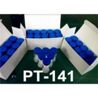 Buy cheap 99.0%min High Purity Polypeptide Hormone PT-141 Bremelanotide Powder from wholesalers