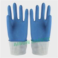 Buy cheap Blue household latex glove from wholesalers
