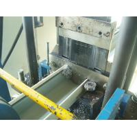 Buy cheap 15m / Minute Roof Ridge Cap Roll Forming Machine Material Thickness 0.3 - 0.6mm from wholesalers