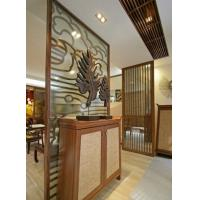Buy cheap Hotel , Restaurant Decorative Glass Partitions / Yellow Insulated Glazing Glass from wholesalers