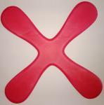 Buy cheap EVA Frisbee, EVA Boomerang Frisbee , four leafs frisbee, EVA flying disc from wholesalers