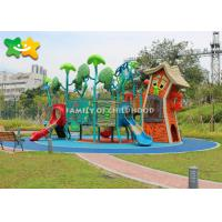 China Unique Kids Outdoor Playground Equipment Pirate Ship Shaped For Little Titkes on sale