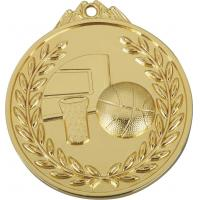 Buy cheap 6.5 x 0.3 cm, zinc alloy, basketball gold medal prize from wholesalers