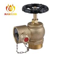 Buy cheap Brass Handwheel Material Fire Fighting Equipment Screw Right Angle Valve from wholesalers