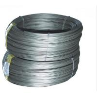 Buy cheap Electric / Hot-dipped / Zinc-Aluminum Coating Galvanized Steel Wire from wholesalers