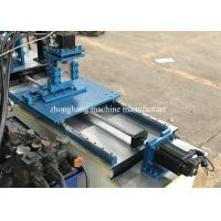 Buy cheap Slotted Metal Angle Flat Bar Iron Corner Edge Bead Stud And Track Roll Forming Machine Multifunction from wholesalers