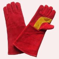 Buy cheap 14′′ Cow Split Leather Welding Gloves (GCW200S) from wholesalers