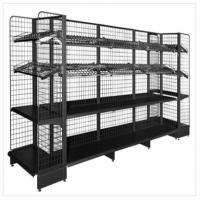 Buy cheap Carbon Steel Durable Tool Storage Rack Wire Mesh Supermarket Gondola Shelf from wholesalers