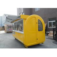 Buy cheap Mobile Food Kiosk Outdoor Food Cart  , Fast Food Cart  Mobile Kiosk For Fruit from wholesalers