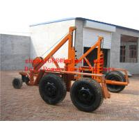 Buy cheap cable trailer cable drum table cable drum carriage from wholesalers