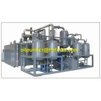 Buy cheap Black Engine Oil Distillation System, Motor Oil Recycling machine,base oil production from wholesalers