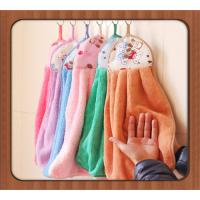 Buy cheap Multi-function Soft Cleaning Microfiber Towel, multi-color absorbent hand kitchen towel product