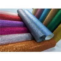 """Decoration 50meters One Roll PU Glitter Fabric Synthetic Leather Material With 54"""" Width"""
