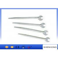 Buy cheap 280 - 520mm Length Tower Erection Tools , Light Weight Sharp Tail Open - End Wrench from wholesalers