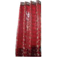 Buy cheap Flocking window finished curtain from wholesalers