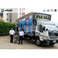 Buy cheap Truck Mobile 7D Movie Theater Motion Cinema Simulator With Special Effect product