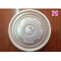 Buy cheap 22oz PS Disposable Plastic Lids Diameter 90mm With Hole / SGS Certificated from wholesalers
