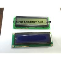 Buy cheap STN 16x2 Character Lcd Display Module White LED Backlight RYB1602B from wholesalers