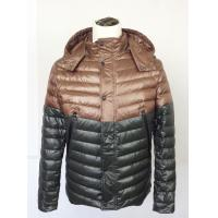 Buy cheap Ladies Casual Skirts , Hooded down jacket  in contrast color for men product
